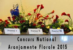 Concursul National de Aranjamente Florarle 2015